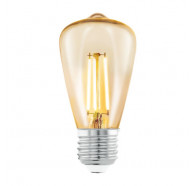 Eglo Mini Pear Decor Amber 3.5W E27 2200K Led ST48 Globes