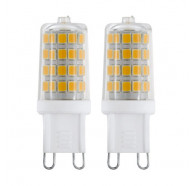 G9 LED LAMP 3W 3000K / 4000K 360LM TWIN PACK