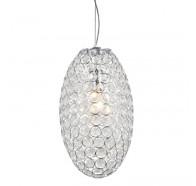 V & M Krystal LED Egg 52cm G9*8 Pendant