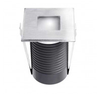Atom AT9312 2W LED IP67 12Vdc Square Face Inground Uplighter