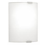 Eglo Grafik Large Plain Opal Glass Wall Light