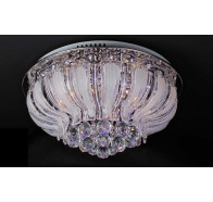 V & M Stella 9075/50cm LED Flush Chandelier