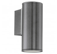 Eglo Riga LED 1 Light Stainless Steel Exterior Wall Light