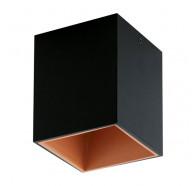 Eglo Polasso 1L 1x3.3w Led 3000k Square Surface Mounted Downlight