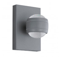 Eglo Sesimba 2x3.7w Led 3000k Led Up/Down Wall Light