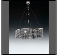 Fiorentino Arco 6 Light Crystal Chandelier