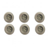 Atom AT9310 6 Pack LED Deck Light Kit