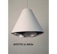 Fiorentino Bitetto 1 Light Laser Cut Pendant