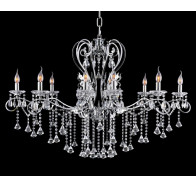 10 Light Crystal Chandelier