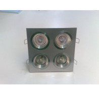 Fiorentino 4 Light Bristol Square Downlight Frame