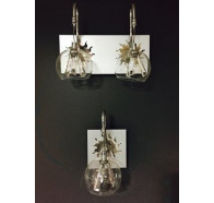 Fiorentino Champagne-A1/A2 1 or 2 Light Wall Light