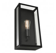 Cougar Chester Black 1 Light Exterior Wall Light