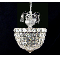 Fiorentino Cloe 1 Light Crystal Chandelier