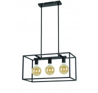 Telbix Collins 3 Light Pendant Light