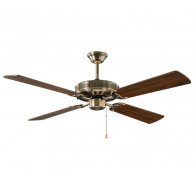 Hunter Pacific Majestic Coolah Antique Brass Ceiling Fan