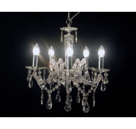 Fiorentino Davinci Chrome Crystal Chandelier
