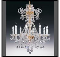 Fiorentino Dream 10 Light Crystal Chandelier