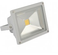 Fiorentino Endo 20 Silver 1 Light Exterior Flood Light