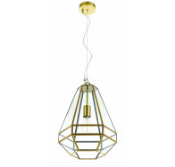 Telbix Espada Large Antique Brass Pendant Light