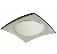 V & M Faro Chrome 2 Light Oyster