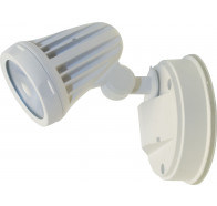 Martec Fortress Single Exterior Spotlights White