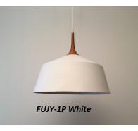 Fiorentino Fujy-27 1 light Wood Look Finish Pendant