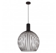 V & M Gabbia Scandinavian Look Large Wood Pendant