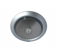 Martec Gyro Silver Exhaust Fan with LED Light