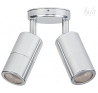 Havit HV1367 GU10 Silver Double Adjustable Wall Pillar Light