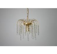 Fiorentino CL610 1 Light Gold Chandelier