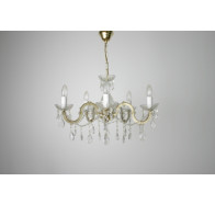 Fiorentino Marte 5 Light Swing Arm Chandelier