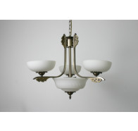 Fiorentino MX966 Antique Brass 5 Light Pendant