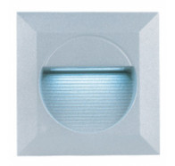 Fiorentino LED JO2 Square 1 Light Exterior LED Wall Light