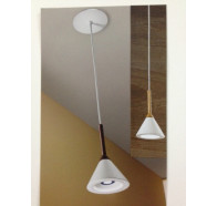 Fiorentino Konika 1 Light Wood Pendant