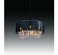 Fiorentino Luxor-6 Chrome chandelier