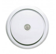Ventair Larivee 250 - 295mm Cut-out Round Exhaust Fan With Led Included - White