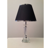 Fiorentino Magill Table Lamp with Black Shade