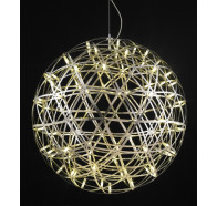 Fiorentino Botany LED Stainless Steel Ball Pendant