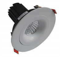 Telbix MDL 503 Gimble LED Downlights in White