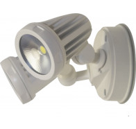 Martec Fortress Twin Spotlights 3000k White