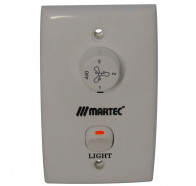 Martec Ceiling Fan Wall Control 3 Speed with Light Switch