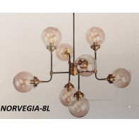 Fiorentino Norvegia Bronze and Black Pendant