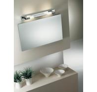 Fiorentino VA3173 2 Light Satin Chrome Vanity Wall Light