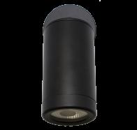 Martec Pulse Single Adjustable 5000K LED Matt Black Finish Exterior Light