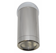 Martec Pulse Single Adjustable 3000K LED Anodised Aluminium Finish Exterior Light