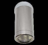 Martec Pulse Single Adjustable 3000K LED Anodised Aluminium Finish Exterior Light