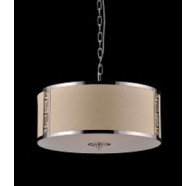 Fiorentino Rotondo 4 Light Drum Pendant Light