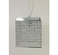 Fiorentino Sayol 2 Light Crystal Square Pendant
