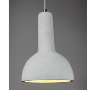 Fiorentino Tonia-1P 1L Concrete Look Pendant Light