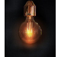Sphere 95 240V Carbon Filament Lamps